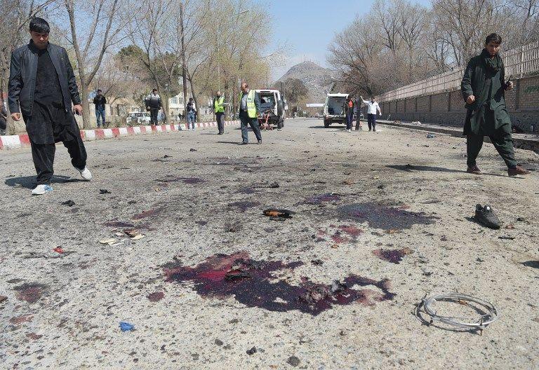 Des journalistes visés à Kaboul lors d'une double attaque suicide