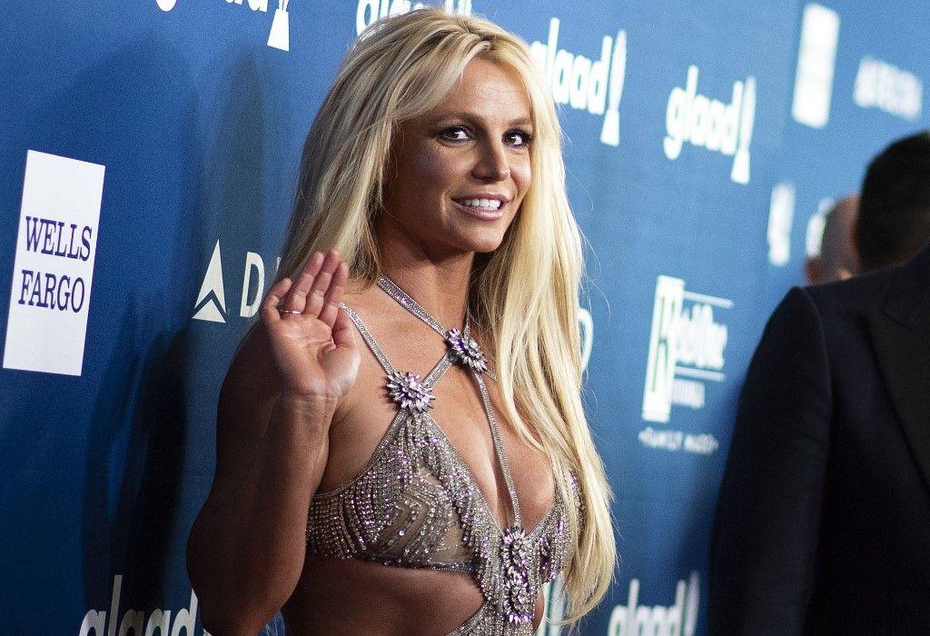 La chanteuse Britney Spears assiste à la 29e édition des GLAAD Media Awards au Beverly Hilton le 12 avril 2018 à Beverly Hills en Californie.