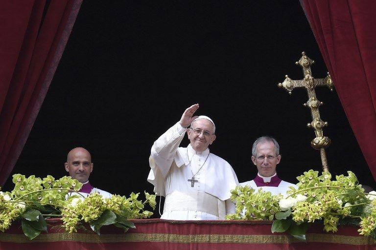 """Le Pape réclame la fin de """"l'extermination"""" en Syrie dans son message de Pâques"""