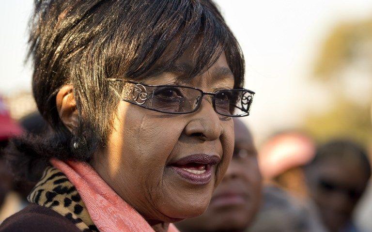 Afrique du Sud : mort de Winnie Mandela, ex-femme de Nelson Mandela