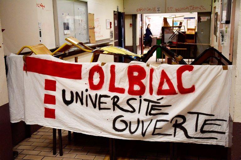 Cinq cocktails Molotov ont été retrouvés à la faculté de Tolbiac