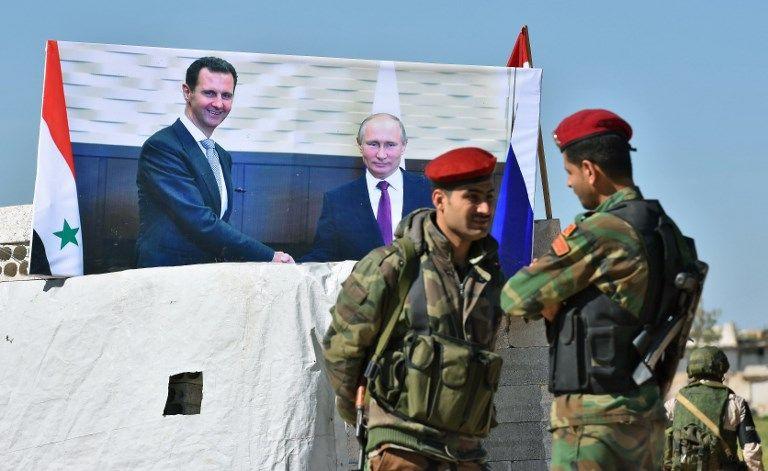 """Idlib : d'après Moscou les rebelles préparent la """"mise en scène"""" d'une attaque chimique"""