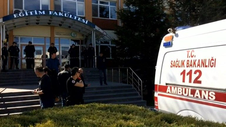 Fusillade en plein cœur d'une université en Turquie