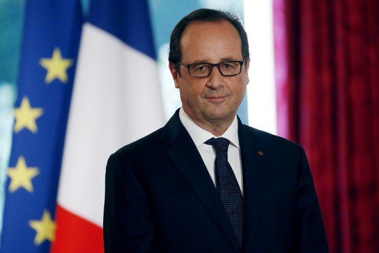 François Hollande est l'invité du 20 Heures de France 2 face à Anne-Sophie Lapix