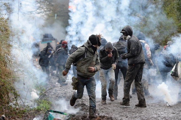 Notre-Dame-des-Landes : Tensions lors de la nouvelle journée d'évacuations