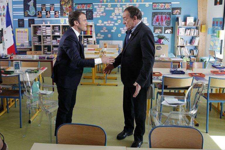 Audience jupitérienne pour l'interview d'Emmanuel Macron par Jean-Pierre Pernaut à Berd'huis