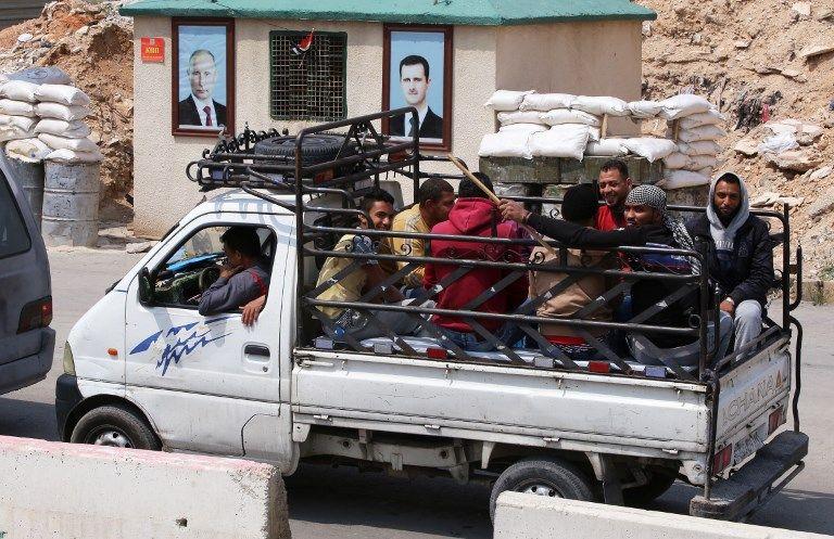 L'armée syrienne a repris le contrôle de Douma