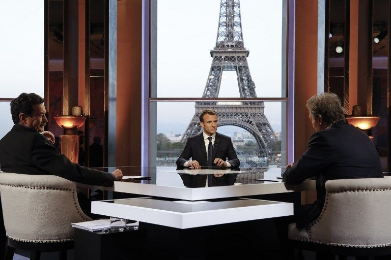 L'interview d'Emmanuel Macron sur BFMTV a rassemblé 3,8 millions de téléspectateurs