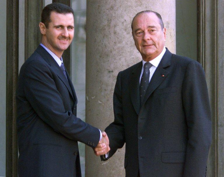 Macron va retirer sa Légion d'honneur à Bachar el-Assad ! C'est Chirac qui va pas être content…