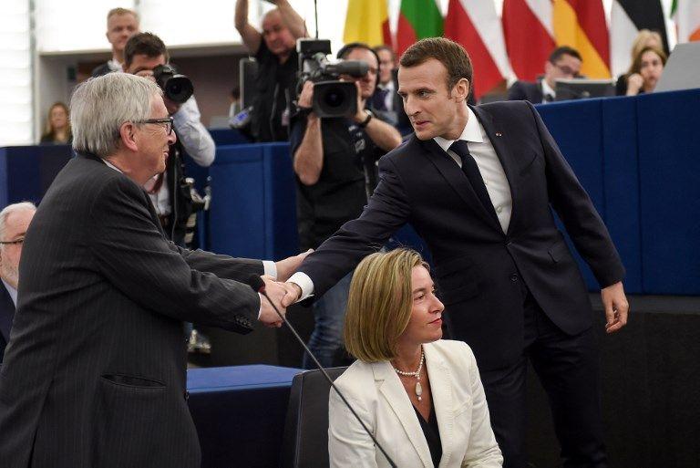 Petit portrait de l'Europe à travers ce qui a été applaudi... ou non dans le discours d'Emmanuel Macron au Parlement européen