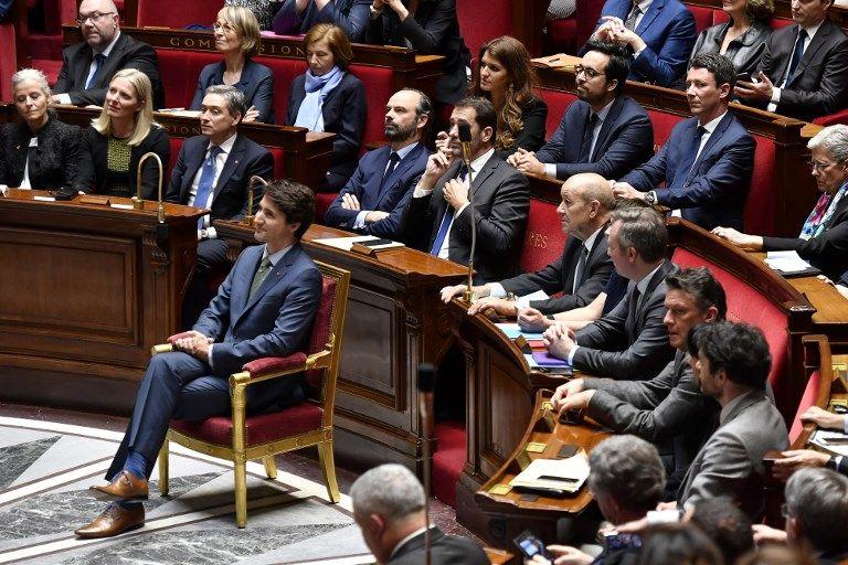 Justin Trudeau défend le Ceta à l'Assemblée nationale