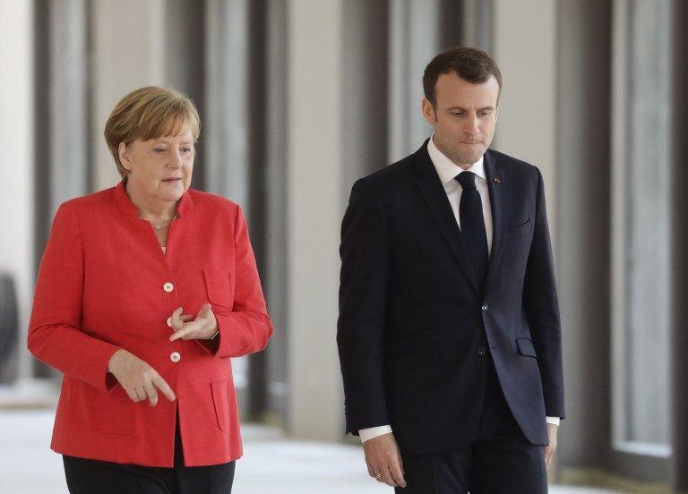 Coup de patte venu de l'est : les sous-titres de l'interview d'Angela Merkel sur Emmanuel Macron