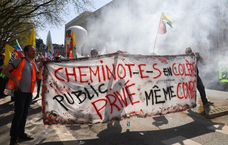 Une journée de manifestation agitée partout en France