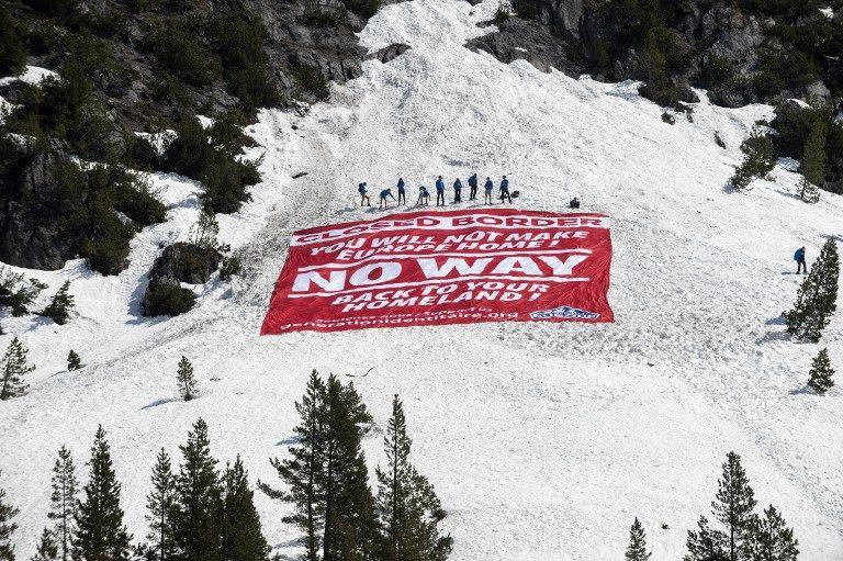 L'action de Génération Identitaire dans les Hautes-Alpes définitivement stoppée par les autorités ?