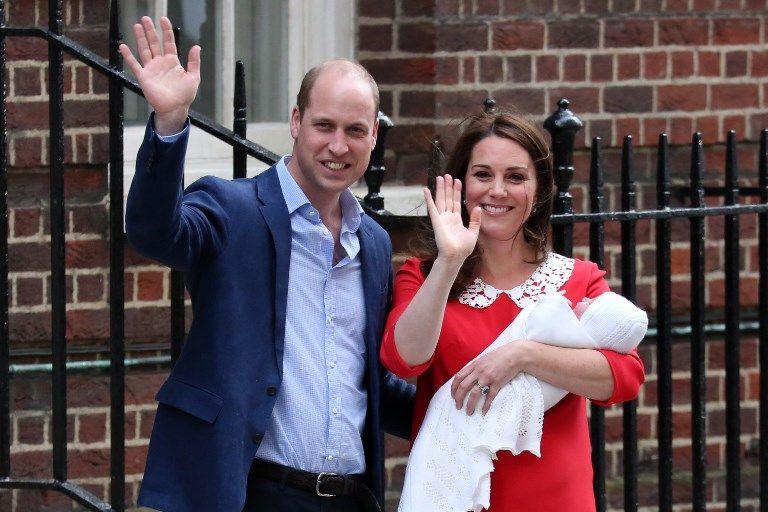Son Altesse royale le prince Louis de Cambridge