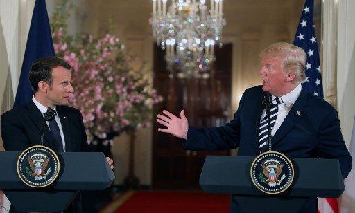 Nucléaire iranien : Emmanuel Macron annonce vouloir travailler avec  Donald Trump sur un nouvel accord