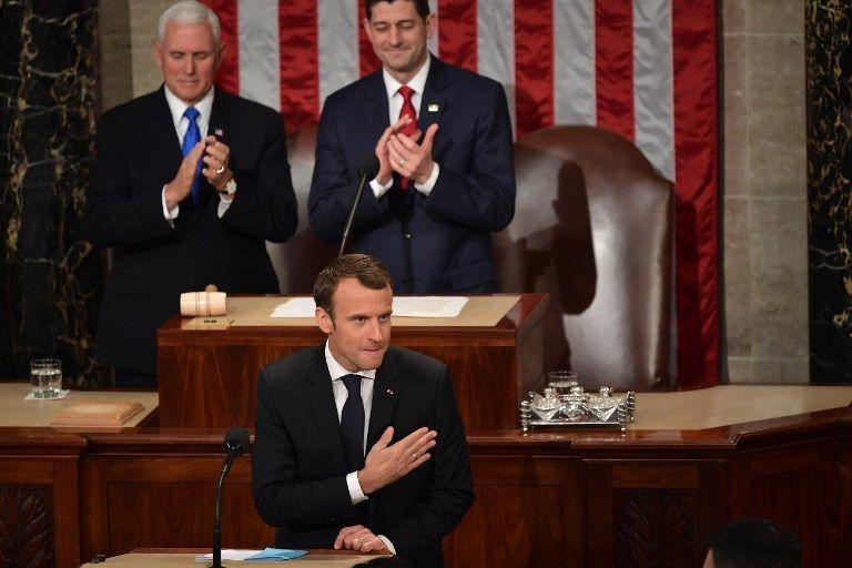 Amitié franco-américaine, économie, Iran, environnement : ce qu'il faut retenir du discours de Macron devant le Congrès