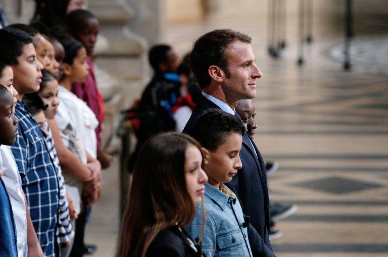 Au Panthéon, Emmanuel Macron annonce la création d'une Fondation pour la mémoire de l'esclavage