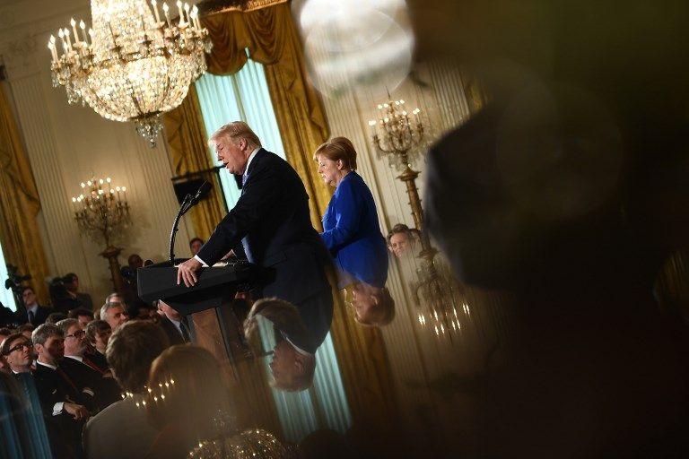 Le match Macron Merkel : qui a obtenu quoi face à Donald Trump ?