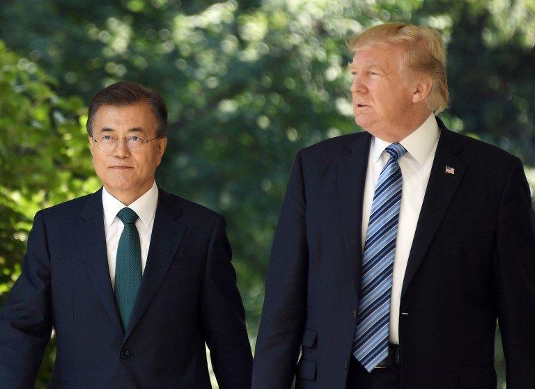 Donald Trump mérite le prix Nobel selon le président sud-coréen Moon Jae-in