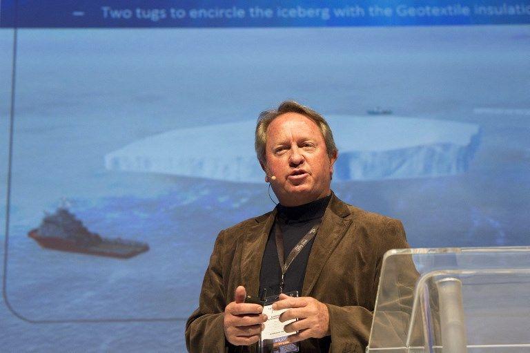 Le Cap : Nick Sloane propose à l'Afrique du Sud de pêcher des icebergs contre la sécheresse !