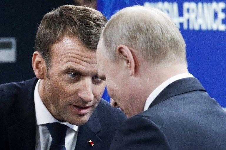 Emmanuel Macron et Vladimir Poutine s'entretiendront dimanche soir après la finale du Mondial