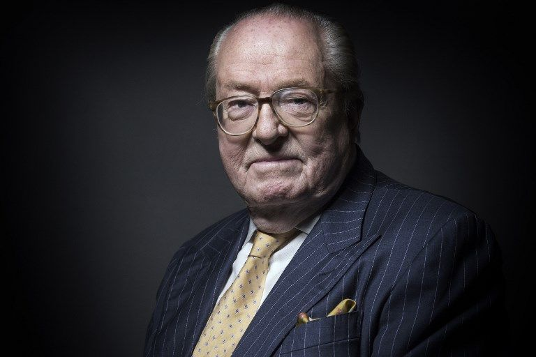 FN : 53% des sympathisants du FN approuvent l'exclusion de Jean-Marie Le Pen