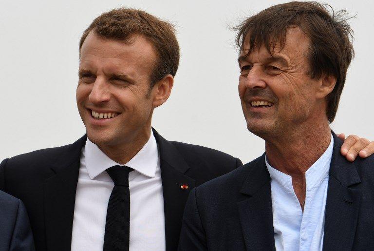 """Démission de Nicolas Hulot : """"C'est une décision personnelle qu'il a prise"""" réagit Emmanuel Macron"""