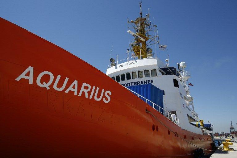 Aquarius : le Portugal propose d'accueillir une partie des migrants