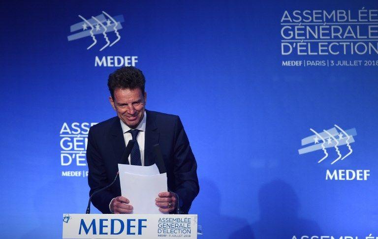 Geoffroy Roux de Bézieux succède à Pierre Gattaz à la tête du Medef
