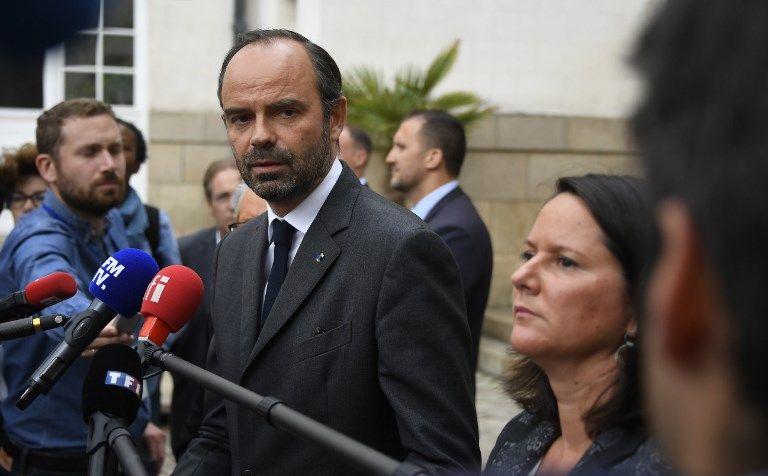 Edouard Philippe en visite à Nantes condamne fermement les violences et annonce des mesures