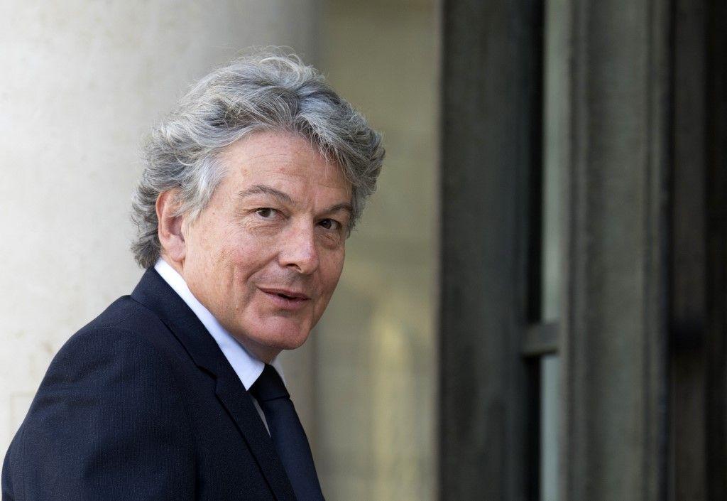 Thierry Breton désigné pour la Commission européenne après le rejet de Sylvie Goulard