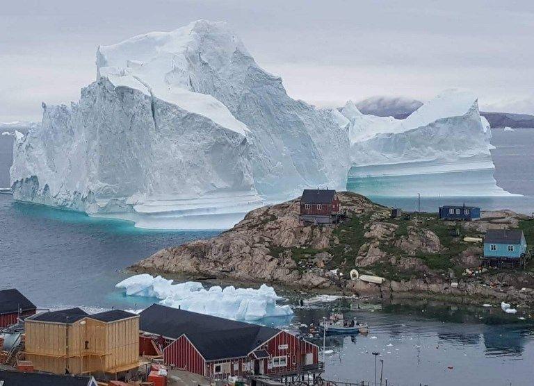 Un iceberg géant menace un village au Groenland