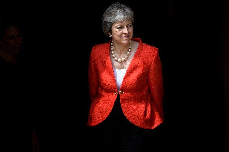 Les très gênants pas de danse de Theresa May