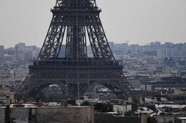 Fin de la grève à la tour Eiffel