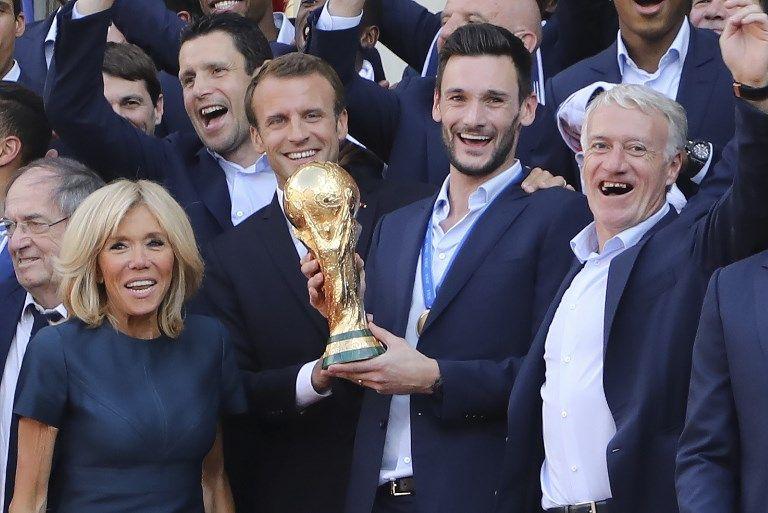 La victoire des Bleus ne booste pas la popularité d'Emmanuel Macron