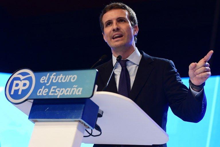 Espagne : la droite se choisit Pablo Casado comme nouveau chef
