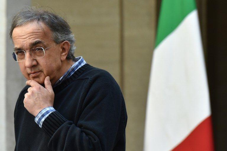 Mort du patron de Fiat, Sergio Marchionne, à l'âge de 66 ans