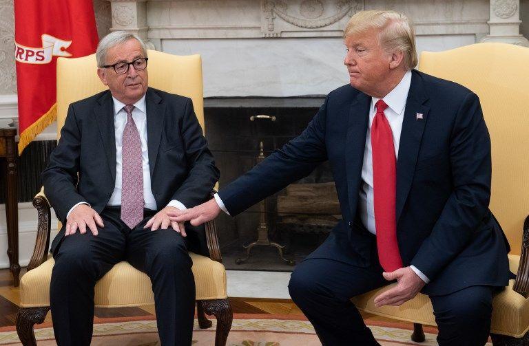 Rencontre Juncker - Trump : beaucoup de bruit pour rien