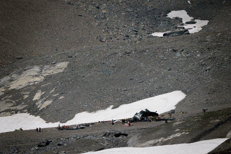 Suisse : 20 morts dans le crash d'un avion