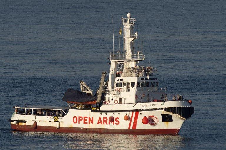 Le bateau de l'ONG Proactiva Open Arms avec 87 migrants a accosté en Espagne