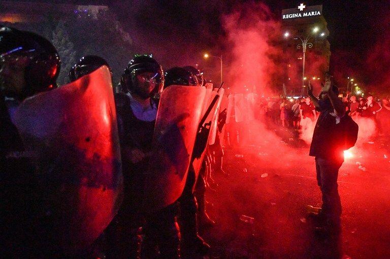 Roumanie : une manifestation anticorruption dégénère dans le centre de Bucarest
