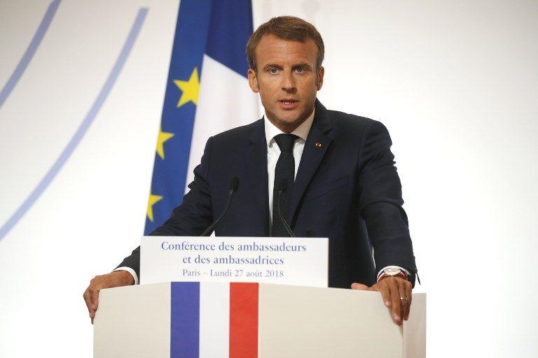 Emmanuel Macron promet un vaste sommet sur la Méditerranée pour 2019