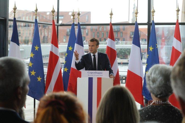 Mais de quoi Emmanuel Macron fait-il vraiment l'éloge quand il célèbre le Danemark ?