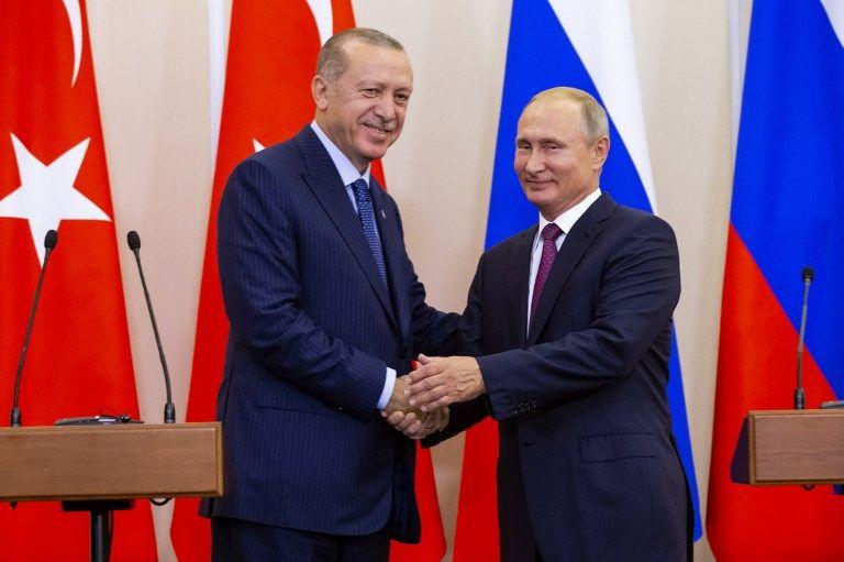 Syrie : Poutine et Erdogan d'accord pour créer une zone démilitarisée à Idleb