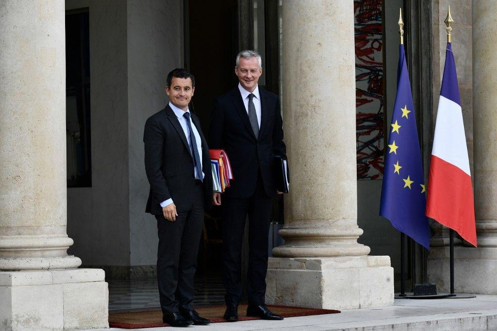 """Gérald Darmanin et Bruno Le Maire annoncent un """"plan d'urgence révisé à 100 milliards d'euros"""" face à une chute du PIB de 6% cette année"""