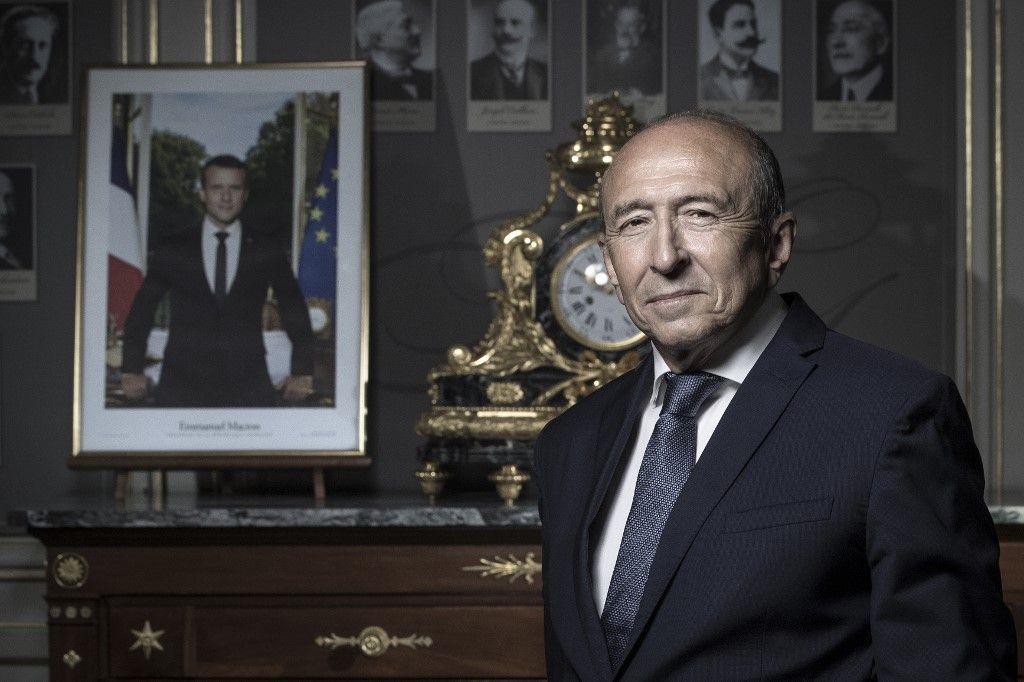 """Gérard Collomb : """"Emmanuel Macron doit sortir de façon positive du grand débat, ce qui est complexe"""""""