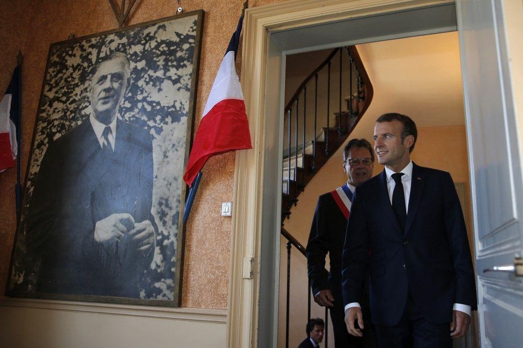 général de Gaulle Emmanuel Macron