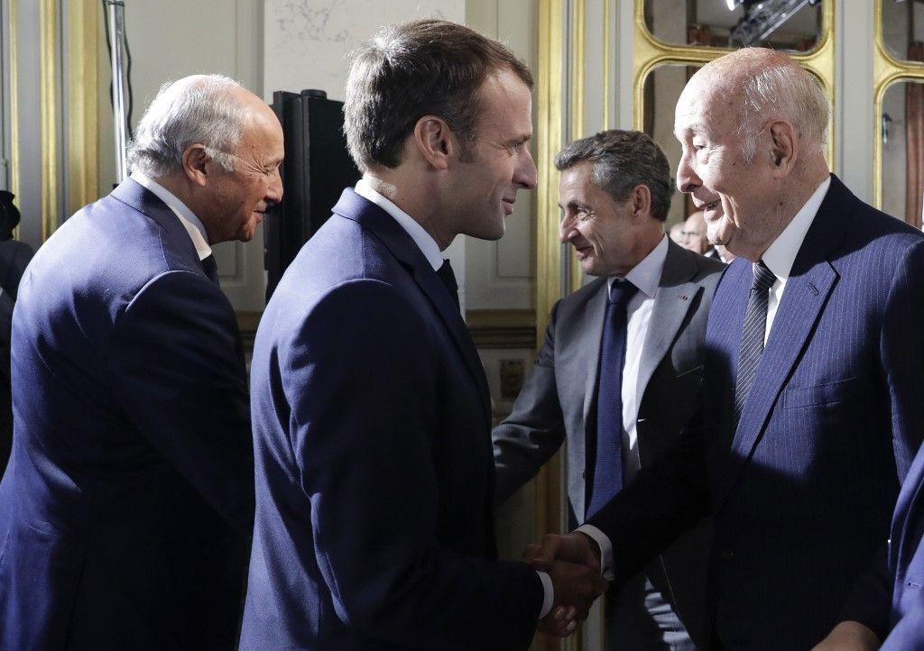 Emmanuel Macron Valéry Giscard d'Estaing L'Express vision