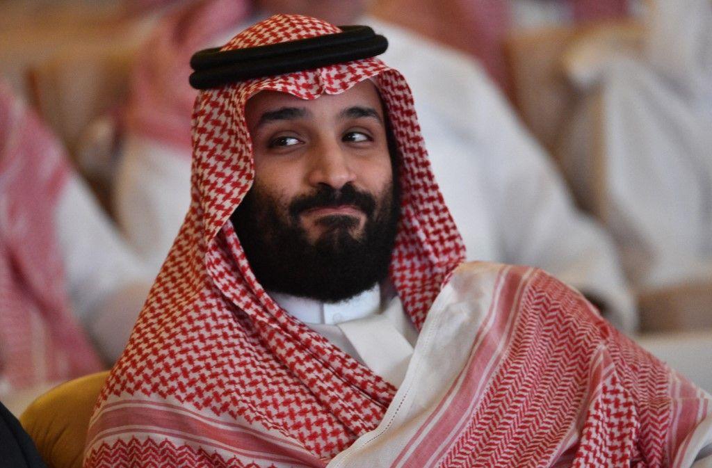 Le prince héritier saoudien Mohammed ben Salmane assiste à la conférence Future Investment Initiative à Riyad, le 23 octobre 2018.